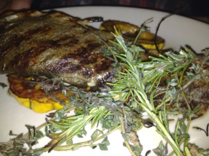 Back Forty's Grilled Catskill Trout