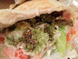 Mamoun's Falafel Pita