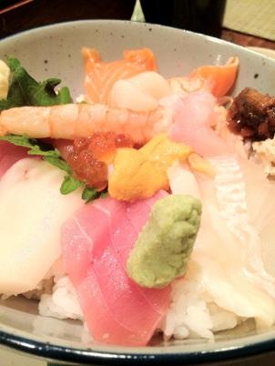 Sushi You's Chirashi Bowl